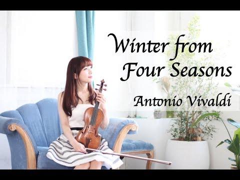 Antonio Vivaldi - Winter from Four Seasons/AYAKO ISHIKAWA 石川綾子/四季より「冬」