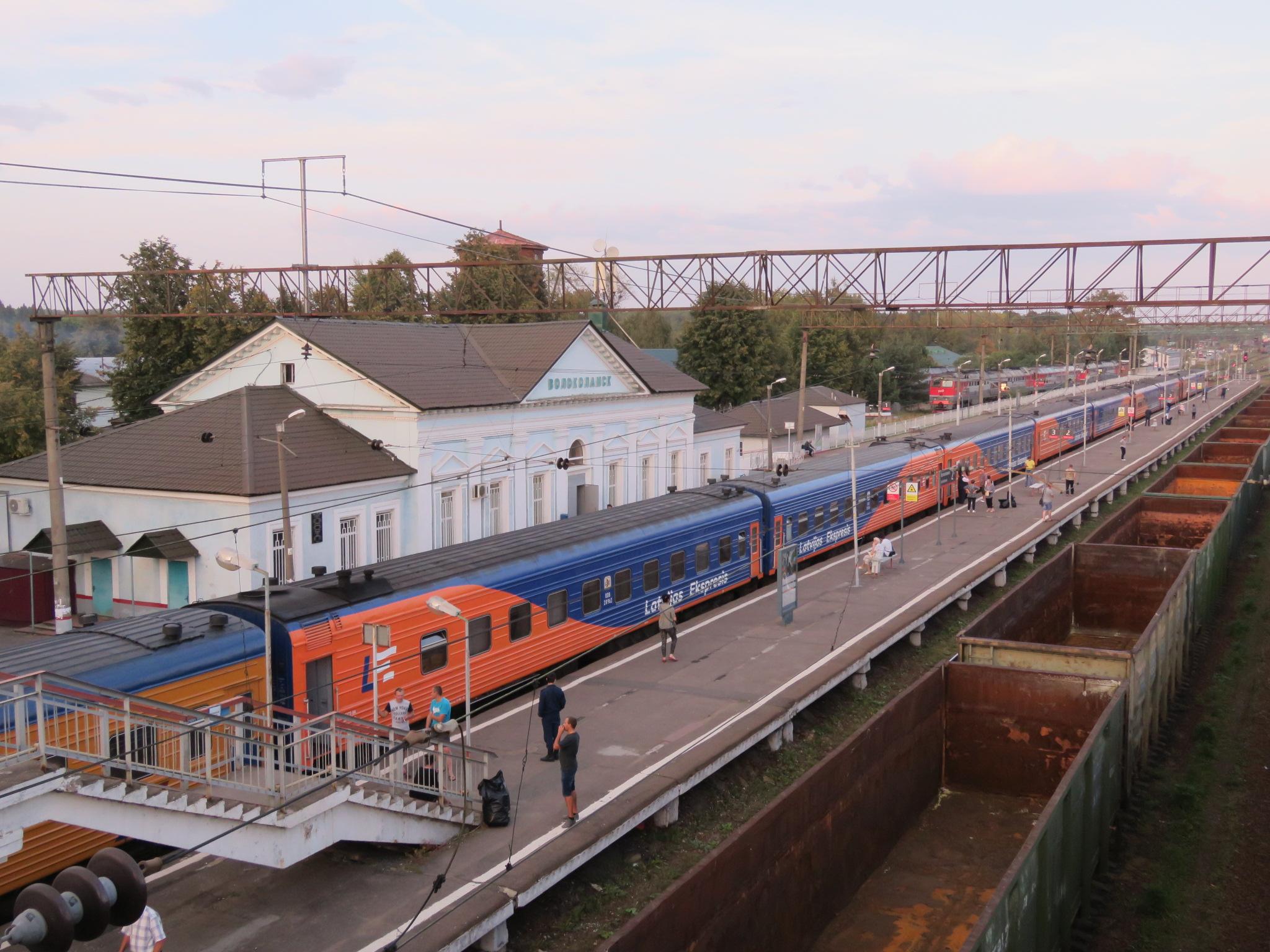 Латвияс Экспресис - поезд-легенда из детства..