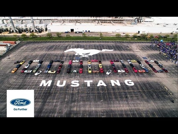 Ford Celebration 10th Millionth Mustang Mustang Ford