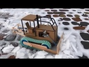 Caterpillar D8H Crawler Tractor | Cardboard Toy | DIY
