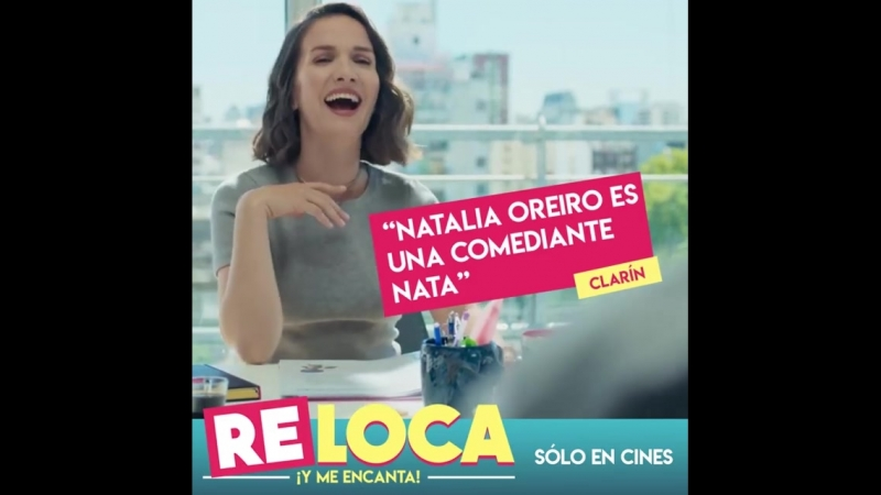 Listo para ca@rte de risa ¡Vení al cine a ver la comedia del año! RELOCA 🤪 SÓLO EN CINES 🤪