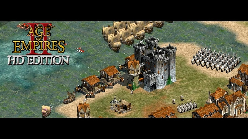 Age of Empires II HD The Forgotten(RU) Мультиплеер - Teutons, Goths VS Hunns, Italians, Saracens