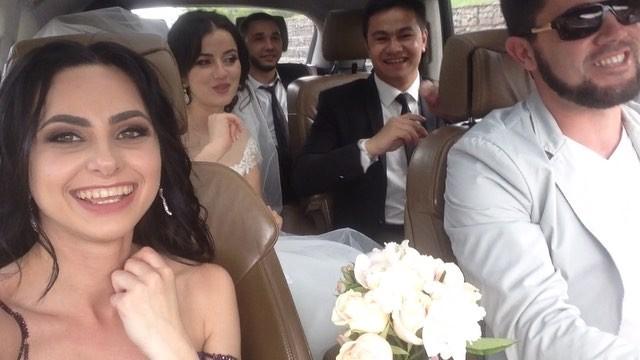 "Evik Qirimli on Instagram: ""Моя драйвовая пара❤️ @hatidja90 @seitadjiev_emil 20 мая 2016 тойсвадьбаweddinghatidja_emil_wedding"""