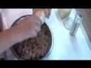 Салат из мяса видео рецеп