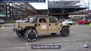 Humvee with reconfigurable wheel-track DARPA GXV-T