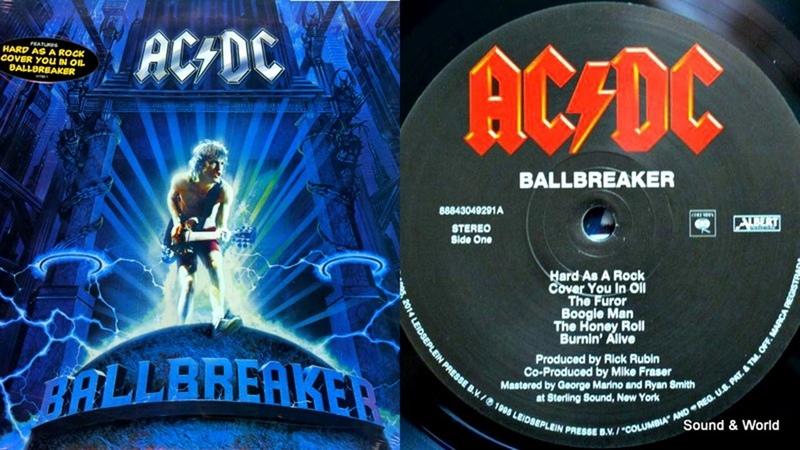 AC DC Ballbreaker Vinyl LP Album 1995