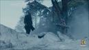 Рагнар помогает Хельге хоронить дочь Флоки
