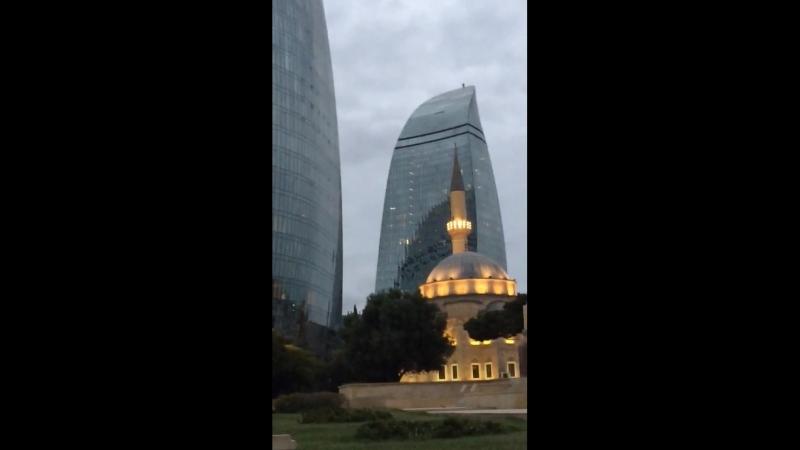 Нагорный Парк Пламенные башни Баку