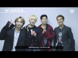 180907 Greeting message from WINNER to Thai INNER CIRCLE!