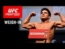 UFC Fight Night Brooklyn: Weigh-in