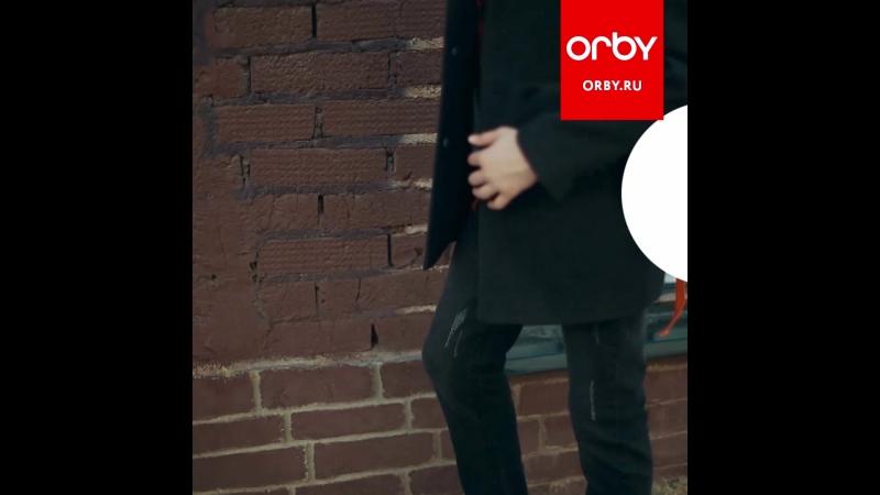 Orby Осень 2018 – пальто для парня