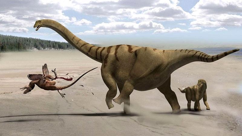 Люди были рабами динозавров