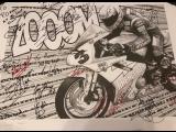 Автографы мотогонщиков Турист Трофеи для мотосервиса MOTO CRAFT