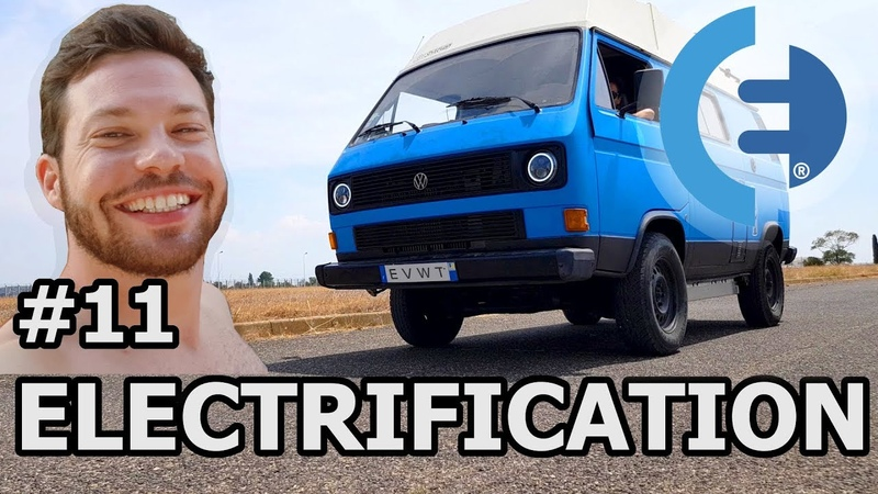 DRIVING our TESLA powered VW T3 Electric van (EVWT 32)