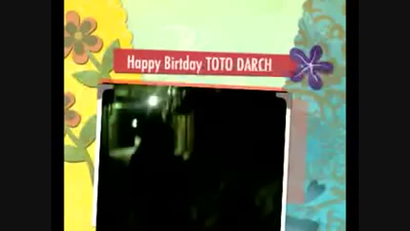 I Know Who Is Toto Darch