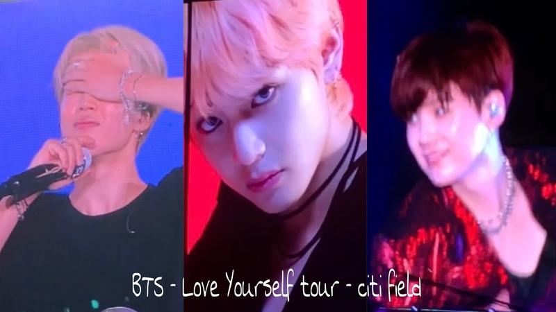 181006 BTS Love Yourself Tour Citi Field NY (IDOL, SEESAW, VCR, etc) [HORIZONTAL VIDEOS] READ DB!
