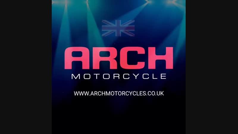 Сайт ARCH Motorcycle в Великобритании.