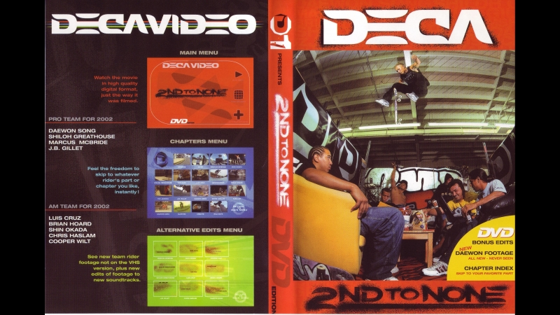 Deca – 2nd to none bonus (2001)