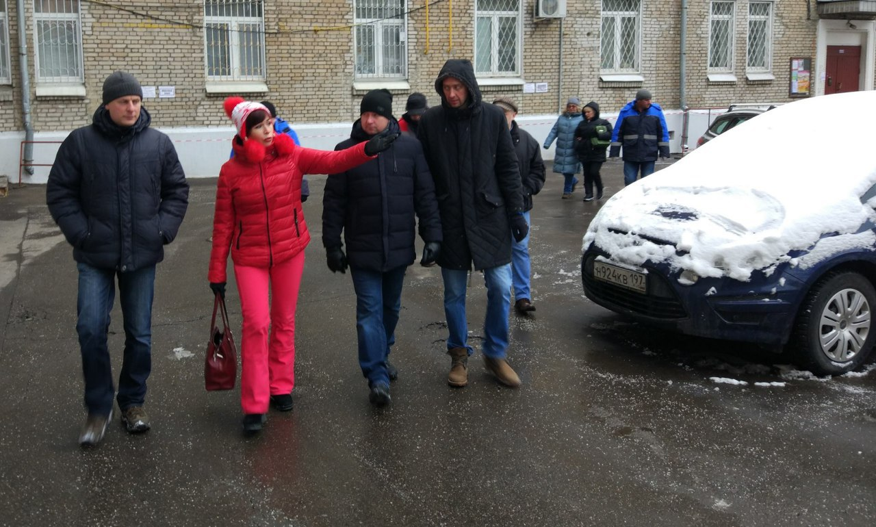 Глава управы Савеловского района совершил обход территории