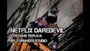 Netflix Darredevil Costume Cosplay.