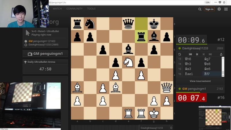 15 second BLINDFOLD chess challenge