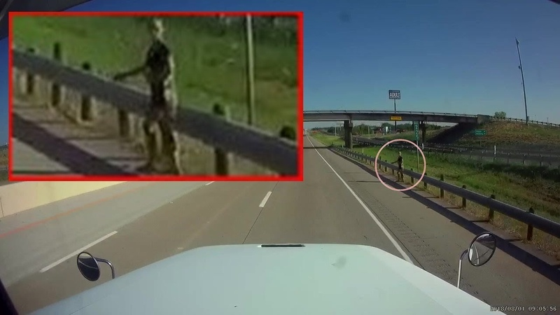Strange humanoid figure with greenish color sighted in Texas