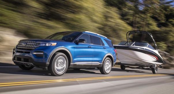 Новый кроссовер Ford Explorer обзавелся версиями ST и Hybrid Фото: компания FordБазовый Ford Explorer шестого поколения был представлен несколько дней назад на специальном мероприятии в