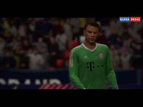 КЛАЯПФ 10 сезон Финал шести 2 круг Группа A ПСЖ Бавария