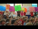 Детки подготовили сюрприз для школьного уборщика