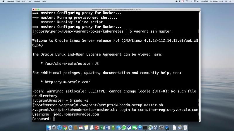 Kubernetes on Oracle Linux