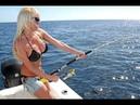 Приколы! Экстрималы неудачники и Девушки на Рыбалке.