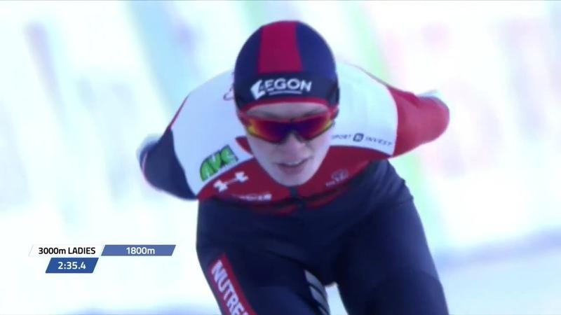 3000m Ladies Allround European Championships 2019