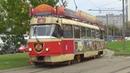 Трамвай Tatra-T3SU №0123 Вагон трактир Аннушка