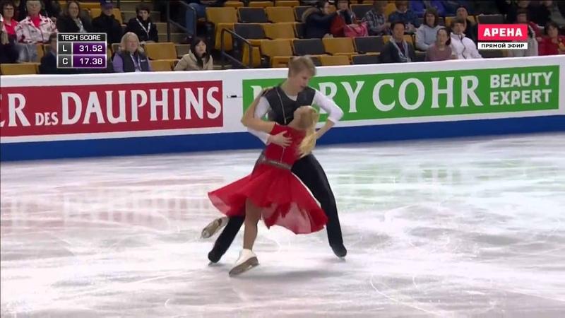 Olga JAKUSHINA and Andrey NEVSKIY. World Championships 2016. Ice Dance, Short Dance