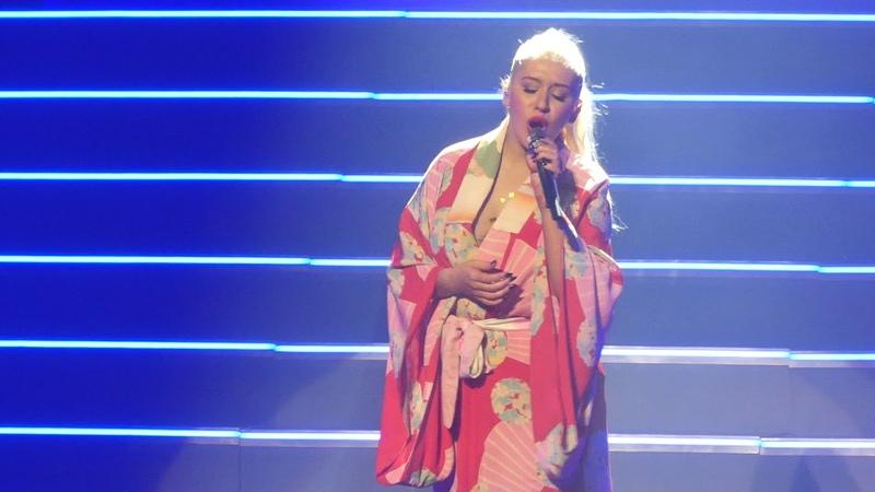 Beautiful Christina Aguilera@MGM National Harbor Oxon Hill, MD 9/30/18