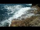 Чёрное море на западе Крыма с Аленовке