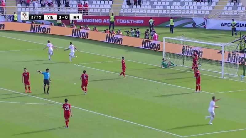 Вьетнам Иран Кубок Азии 2019 Обзор матча