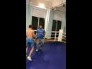Работа на лапах Исхаков Владислав КМС 🥊