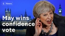 May wins confidence vote - what next for Brexit