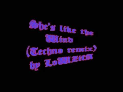 She's like the Wind Techno remix by LoWZifA