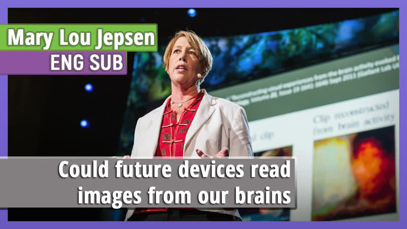 Mary Lou Jepsen «Could future devices read images from our brains» [eng sub]