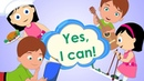 Yes, I Can! | Action Song For Children Can You Swim?