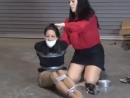 Gina Rae gags Angie Blackwell
