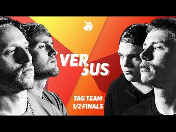 K-PoM vs KOTCHA | Grand Beatbox TAG TEAM Battle 2018 | SEMI FINAL