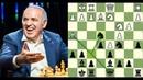 Kasparov, você vai mesmo sacrificar a dama no lance 12?