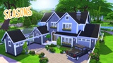 SEASONS HOUSE BUILD The Sims 4 Speed Build