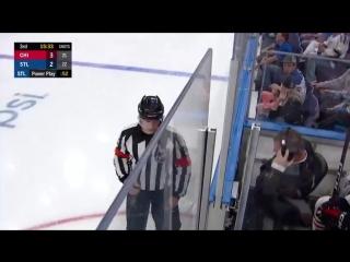 Вторая шайба Владимира Тарасенко в новом сезоне НХЛ