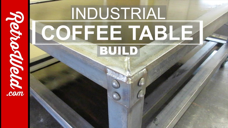 🔴 Industrial Coffee Table Build