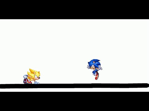 Sonic против своего клона