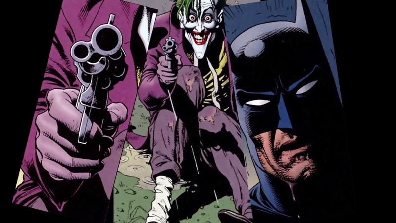 Two guys in a Lunatic Asylum (Batman; The Killing Joke)